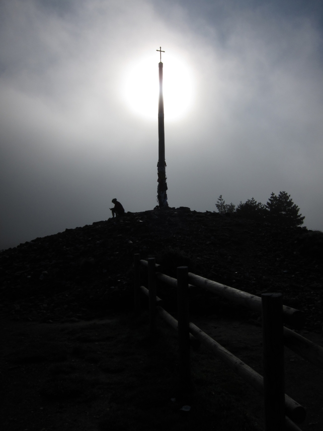 Morning Fog at Cruz de Fero