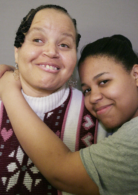 Bonnie Brown and her daughter Myra