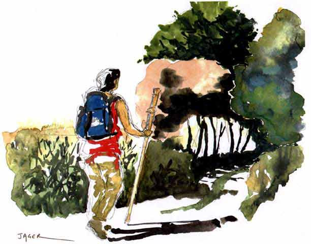 Patrick Jager - Camino Notebook Watercolors