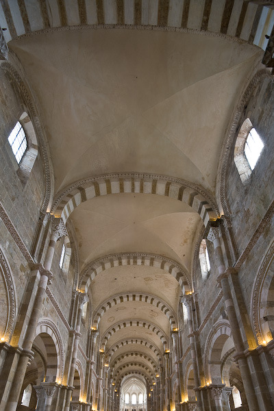 Groin Vault at Vezelay - Via Lucis Photography