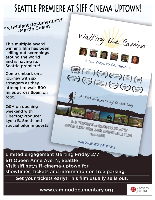 Seattle Limited Run: Walking the Camino: Six Ways to Santiago